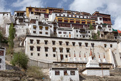 Tiksey Monastery in Ladakh, India Royalty Free Stock Photo
