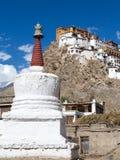 Tiksey Monastery in Ladakh, India Stock Photos