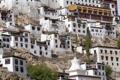 Tiksey Monastery in Ladakh, India , Royalty Free Stock Photo