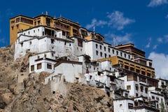 Tiksey Monastery in Ladakh, India Stock Image