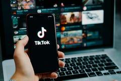 Free TikTok App. Royalty Free Stock Photo - 176633135
