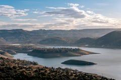 Tikves jezioro Obrazy Stock
