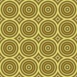 Tilable sem emenda da textura retro dourada do fundo Imagem de Stock