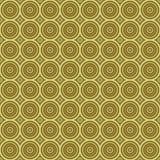 Tilable sem emenda da textura retro dourada do fundo Imagens de Stock Royalty Free