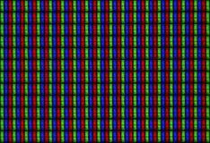Tilable texturerar skärm LCD RGB - makro Arkivfoto