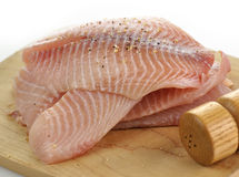 Tilapia fillet Stock Photo