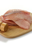 Tilapia fillet Royalty Free Stock Photography