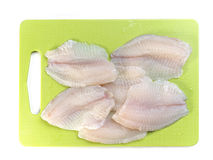 Tilapia fish fillets Stock Images
