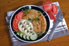 Tilapia frit de plat Photo libre de droits