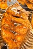 Tilapia gebratene Fische Lizenzfreies Stockfoto