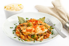 Tilapia Veracruz Royalty Free Stock Photography
