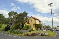 """Tilba Tilba, †dell'Australia """"gennaio 2016 Vista della via in Tilba Tilba, Nuovo Galles del Sud Immagini Stock Libere da Diritti"""