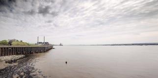Tilburyfort i Essex Arkivfoto