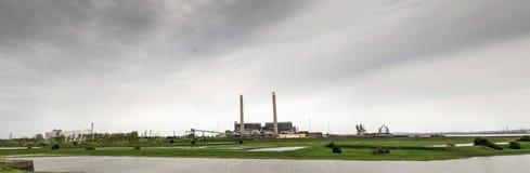 Tilburykraftverk Fotografering för Bildbyråer