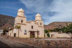 Tilcara-Kirche - Tilcara, Jujuy, Argentinien lizenzfreie stockfotos