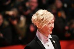 Tilda Swinton во время Berlinale 2018 Стоковая Фотография