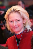 Tilda Swinton. BERLIN - FEBRUARY 11: Actress Tilda Swinton arrives at the 'Thumbsucker' premiere during the 55th annual Berlinale International Film Festival on stock images