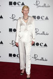 Tilda Swinton. LOS ANGELES - JAN 30: Tilda Swinton arrives at Pomellato Celebrates The Opening Of Its Rodeo Drive Boutique Hosted By Tilda Swinton And Benefiting stock images