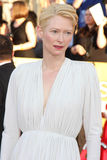 Tilda Swinton. LOS ANGELES - JAN 29: Tilda Swinton arrives at the 18th Annual Screen Actors Guild Awards at Shrine Auditorium on January 29, 2012 in Los Angeles royalty free stock image
