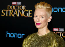 Tilda Swinton Fotografia de Stock Royalty Free