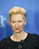 Tilda Swinton attends the `Hail, Caesar!` Royalty Free Stock Photo