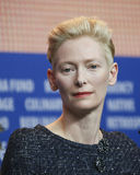 Tilda Swinton attends the `Hail, Caesar!` Stock Photography