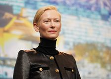 Tilda Swinton attends the `The Souvenir royalty free stock photography