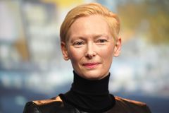Tilda Swinton attends the `The Souvenir royalty free stock images