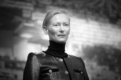 Tilda Swinton attends the `The Souvenir. ` press conference during the 69th Berlinale International Film Festival Berlin at Grand Hyatt Hotel on February 12 royalty free stock image