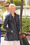 Tilda Swinton. CANNES, FRANCE - MAY 25, 2013: Tilda Swinton at photocall at the 66th Festival de Cannes for her movie Only Lovers Left Alive stock image