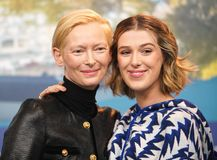 Tilda Swinton,  Honor Swinton-Byrne attend the `The Souvenir stock images