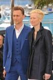 Tilda Swinton & Tom Hiddleston Royalty Free Stock Photo