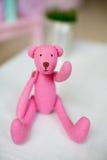 Handmade teddy Stock Image