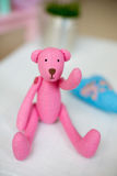 Handmade teddy Stock Images