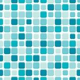 Tile. Seamless wallpaper, blue tile, illustration Stock Photo