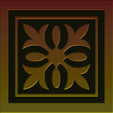 Tile 2 celtic style series royalty free stock photo