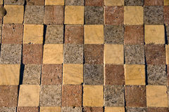 Tile. Background in a street Stock Photography