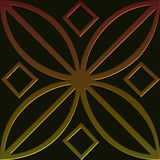 Tile 4 celtic style series Royalty Free Stock Image