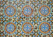 Tile background. Colorful tile background with traditional azulejos Royalty Free Stock Images