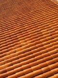 Tile background. Modular background of orange tiles Stock Photos