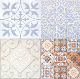 Tile background. Ceramic Floor and Wall Tile background building construction Royalty Free Stock Image