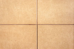 Tile background. In four parts and brown tone Stock Photo
