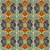 Tile background, Moroccan ornament pattern Stock Photo