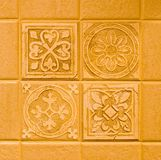 Tile Backsplash Stock Photo