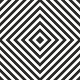 Tile black and white vector pattern. Or seamless geometric background royalty free illustration