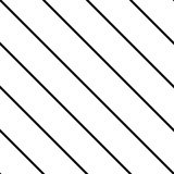 Tile black and white stripes vector pattern Royalty Free Stock Photos