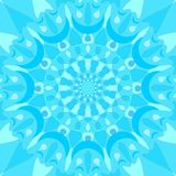 Tile with blue low contrasting decor Stock Photos