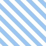 Tile blue and white stripes vector pattern Royalty Free Stock Photos
