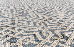 Tile brick floor Royalty Free Stock Photography