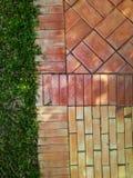 Tile  brick  pattern  background Stock Photography
